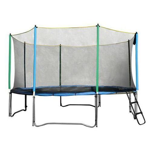 Siatka ochronna do trampoliny 305 cm z 6 słupkami (8595153607630)