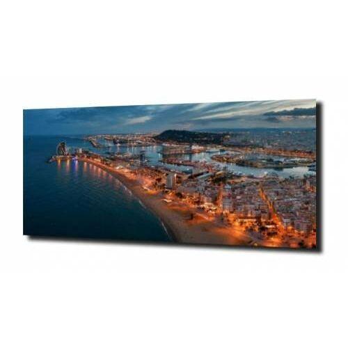 obraz na szkle, panel szklany Barcelona 125X50