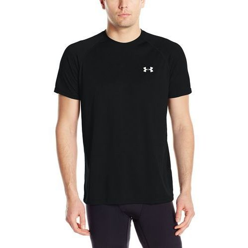 Under armour męski t-shirt fitness ua tech tee, czarny, l