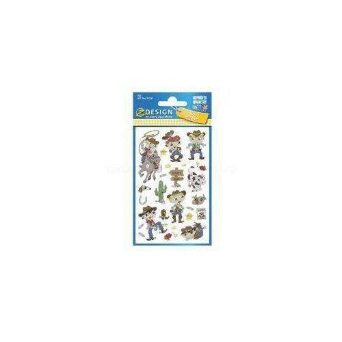 Naklejki papierowe - Kowboje (4004182532232)