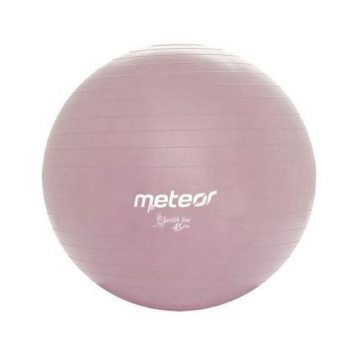 METEOR 31125 45 cm - Piłka gimnastyczna z pompką