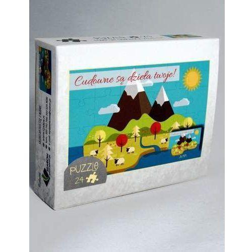 Praca zbiorowa Puzzle - góry - cudowne są dzieła twoje (5902574160836)