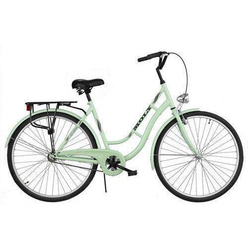 Rower DAWSTAR Moly Miętowy + OKAZJA NA SZÓSTKĘ! Sprawdź ofertę szkolną! + WYPRZEDAŻ! - Skorzystaj z wyjątkowej oferty rowerowej! + 5 lat gwarancji na ramę! (5901986491644)
