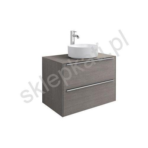 ROCA Inspira szafka 800 mm pod umywalkę, kolor Dąb 851080402