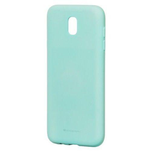 Etui Mercury Goospery Soft Feeling Case żelowe Samsung Galaxy J7 2017 J730 zielone, kolor zielony