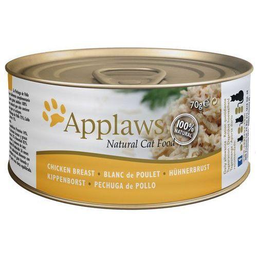Applaws karma dla kota w bulionie, 6 x 70 g - Makrela z sardynkami