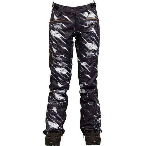 spodnie NIKITA - White Pine Pant Marble Print Marble Print (MAR) rozmiar: S