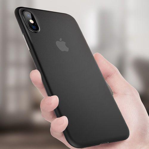 Etui Benks Lollipop Iphone XS MAX - Solid Black, kolor czarny