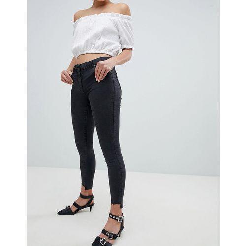 skinny jeans - grey marki Parisian