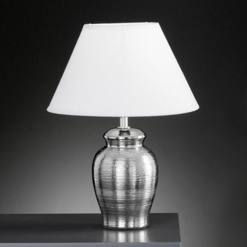 Honsel Simon lampa stołowa Chrom, 1-punktowy - Nowoczesny/Design/Klasyczny - Obszar wewnętrzny - Simon - Czas dostawy: od 2-4 dni roboczych (4001133968317)