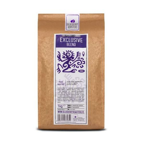 Kawa ziarnista exclusive blend 1kg - ziarnista \ 1kg wyprodukowany przez Blueberry roasters