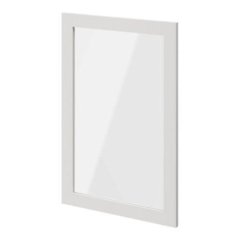 Goodhome Drzwi do korpusu 50 x 75 cm atomia biały/szkło transparentne