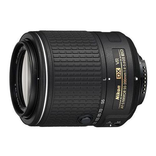 Nikon af-s 55-200 mm f/4,0-5,6g ed dx vr ii - produkt w magazynie - szybka wysyłka! (0018208200504)