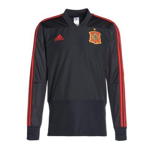 adidas Performance FEF SPAIN TRAINING Koszulka reprezentacji solid grey/night grey/red