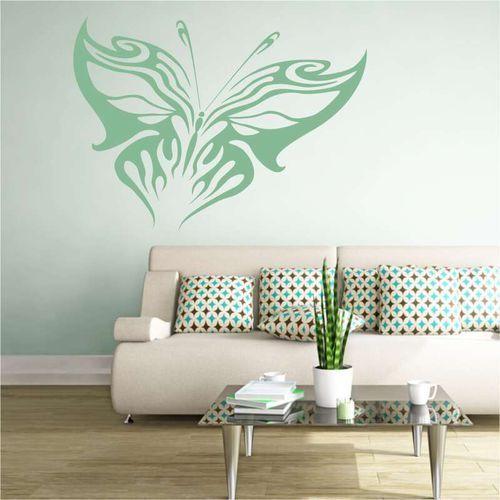 Wally - piękno dekoracji Szablon do malowania płomienny motyl 2352