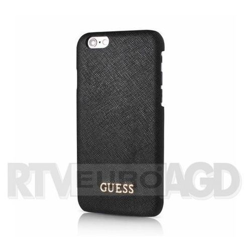GUESS Etui hardcase GUHCP6TBK iPhone 6/6S czarne SAFIANO - sprawdź w wybranym sklepie