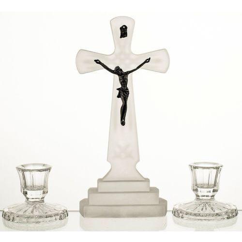 Kpl kolędowy Ars Christiana krzyż 2 świeczniki (2547), kup u jednego z partnerów