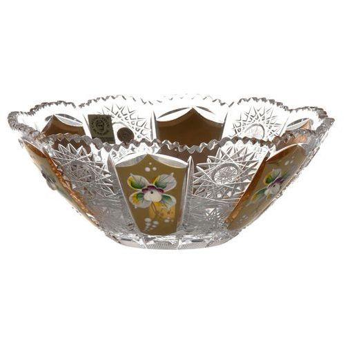 23596 Półmisek 500K Złoto, szkło kryształowe bezbarwne, średnica 180 mm