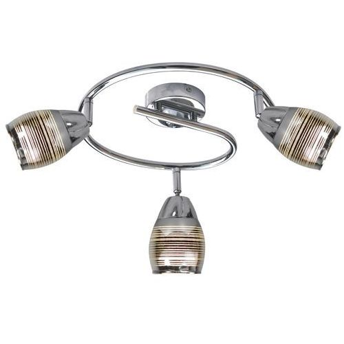Candellux Milton 93-61300 plafon lampa sufitowa 3x10W E14 LED chrom