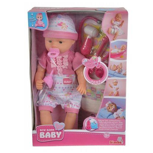 Lalka new born baby - z akcesoriami doktora marki Simba