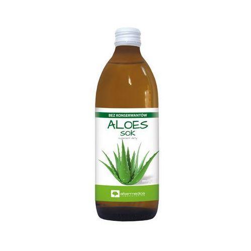 Aloes sok z aloesu bez konserwantów 1000ml od producenta Alter medica