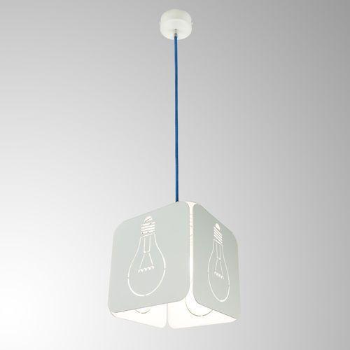 Lampa wisząca idea biała / niebieski 87117.01.58 - marki Imperium light