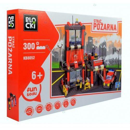 Klocki Blocki Straż pożarna Remiza mała 300 elementów - Icom. DARMOWA DOSTAWA DO KIOSKU RUCHU OD 24,99ZŁ, 68241003523ZA (1902995)