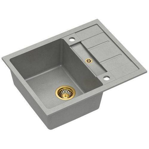 Zlewozmywak Quadron MORGAN 116 Granite HB8210U5-G1 - kto pyta płaci mniej I zadzwoń 22 266 82 20 I odbierz w Salonie!, kolor złoty