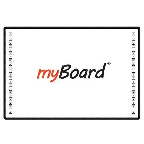 """Tablica interaktywna dotykowa myBoard BLACK 90"""" Nano, 16:9, ceramiczna"""