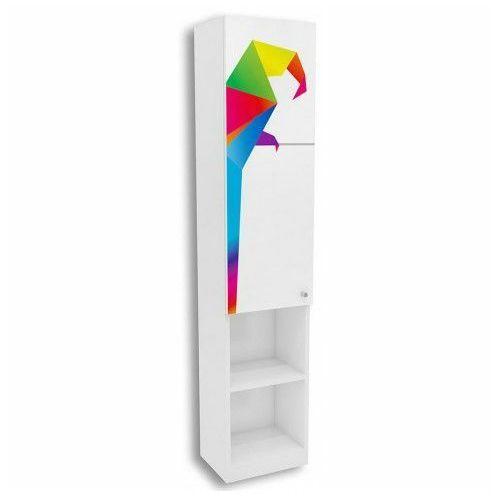 Biały regał do pokoju dziecięcego elif 14x - 5 kolorów marki Producent: elior
