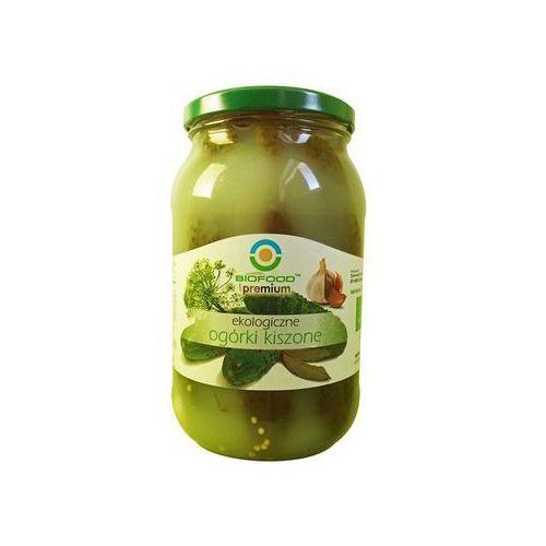 Bio food Ogórki kiszone 900 g
