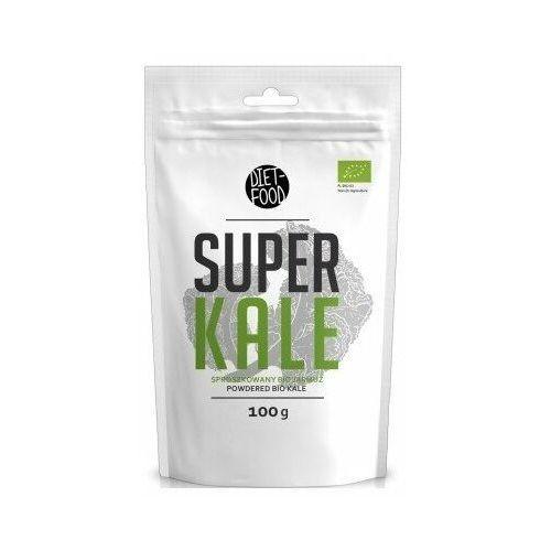 Super kale - jarmuż w proszku bio 100g marki Diet-food
