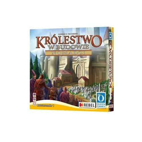 OKAZJA - Rebel Królestwo w budowie: nomadzi. dodatek do gry planszowej