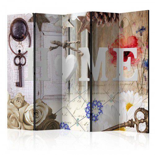 Parawan 5-częściowy - Home: Wspomnień czar [Room Dividers], A0-PARAVENT1043 (7810489)