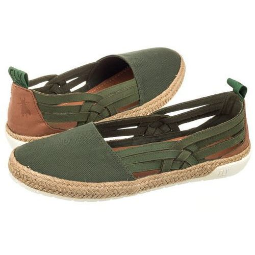 Espadryle eeka canvas khaki (cord) p143960001 (fl224-c), Fly london, 36-41