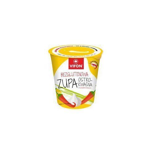 Zupa błyskawiczna bezglutenowa ostro kwaśna z kluskami 60 g vifon marki Tan viet