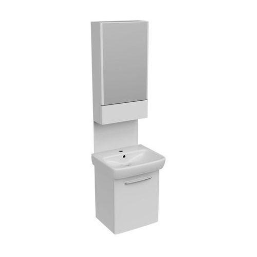 Zestaw mebli łazienkowych 55cm, umywalka + szafka podumywalkowa + szafka wisząca z lustrem nova pro (m39015) marki Koło