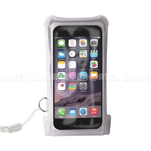 """PURO Nieprzemakalne etui smartphone/phablet max. 5.1"""" + kieszeń na kartę (przezroczysty) - Przezroczysty   Czarny (8033830139536)"""