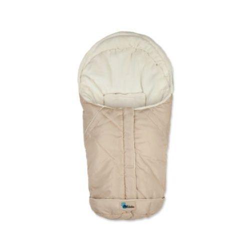 Altabebe śpiworek zimowy nordic do fotelika samochodowego, rozmiar 0+ kolor beżowy-whitewash marki Alta bebe