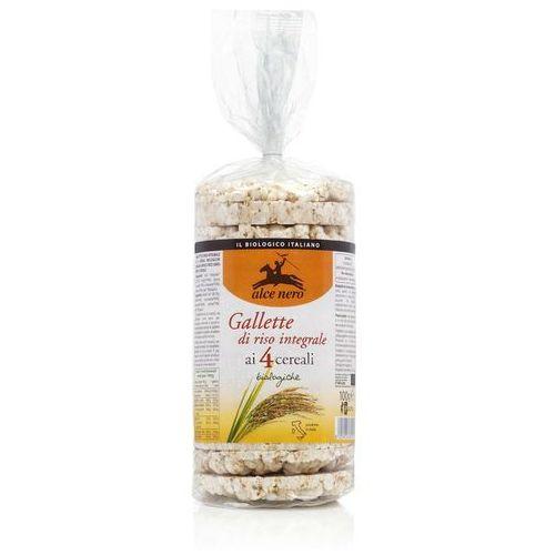 Alce Nero: wafle ryżowe pełnoziarniste 4 ziarna BIO - 100 g