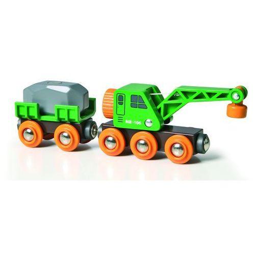 Brio  dźwig + wagon 33698 (7312350336986)