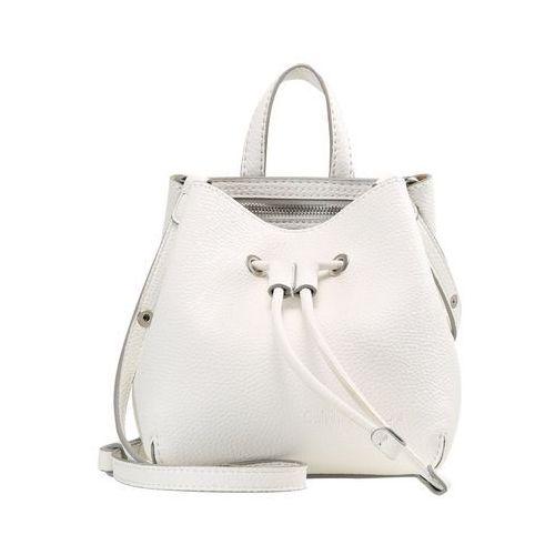 Calvin Klein Jeans ULTRA LIGHT STUDIO BUCKET Torba na ramię white (8719113178040)