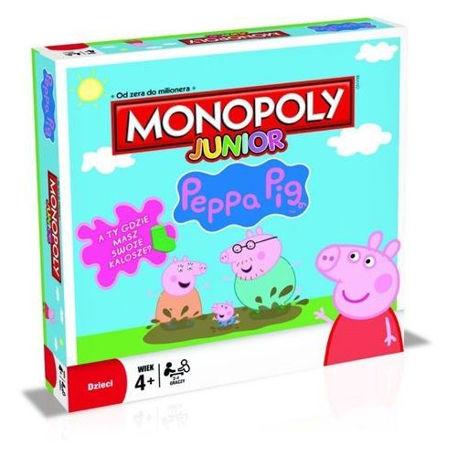 Gra Monopoly Junior Peppa Pig B93501200