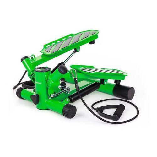 Stepper skrętny z regulacją hs-30s - zielony marki Hop-sport