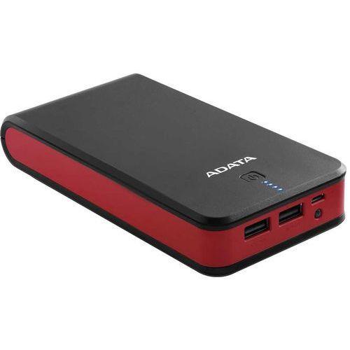 Adata Powerbank P20100 20100mAh Czarno-czerwony 2.1A (4713218463517) - OKAZJE