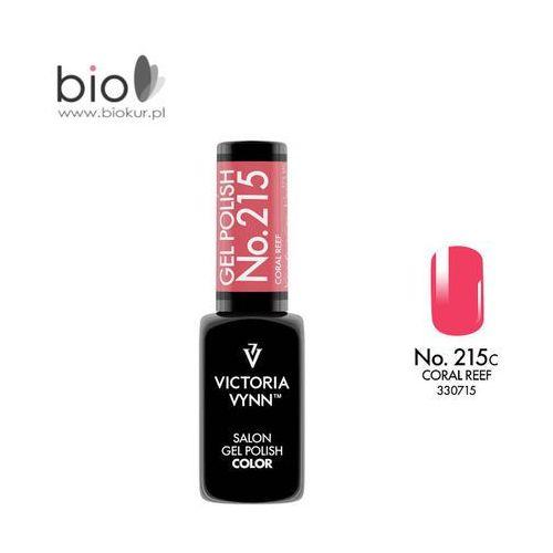 Victoria vynn Lakier hybrydowy gel polish color coral reef nr 215 - 8 ml nowość! (5902533307159)