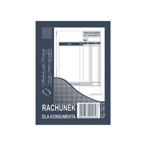 Michalczyk i prokop Rachunek dla konsumenta a6 (wielokopia) - g1326