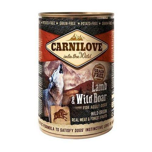 carnilove lamb&wild boar 400g puszka marki Brit