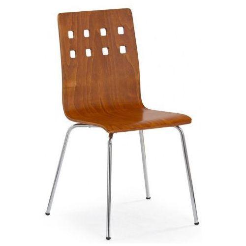 Metalowe krzesło Tridin - czereśnia antyczna, kolor Metalowe