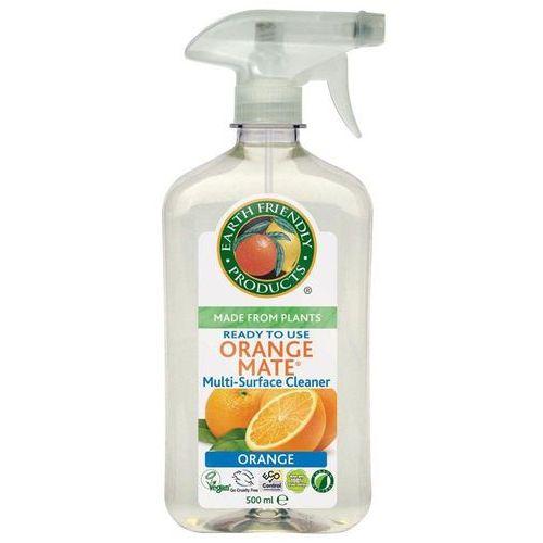 Earth friendly products - - spray do czyszczenia wszystkich powierzchni orange mate idealny do drewnianych podłóg, pomalowanych powierzchni, linoleum, plastiku, porcelany, chromu, stali nierdzewnej, drewna